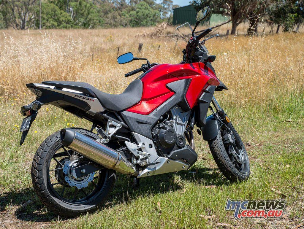 Honda CB500X - Image by Colin Rosewarne