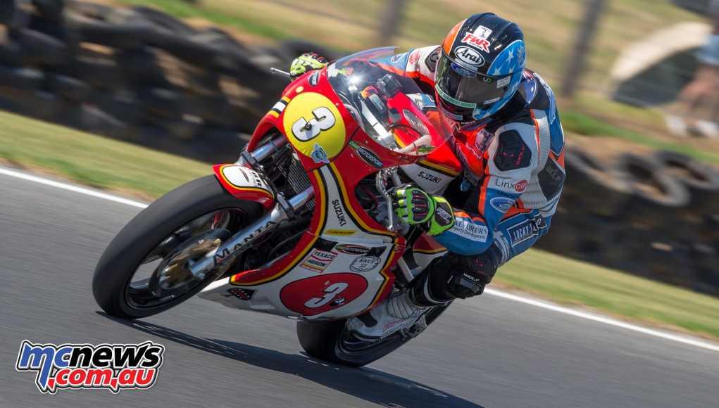 David Johnson dominates race three