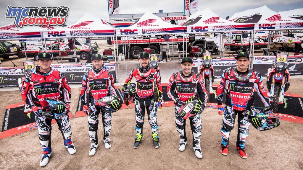2018 Monster Energy Honda Team