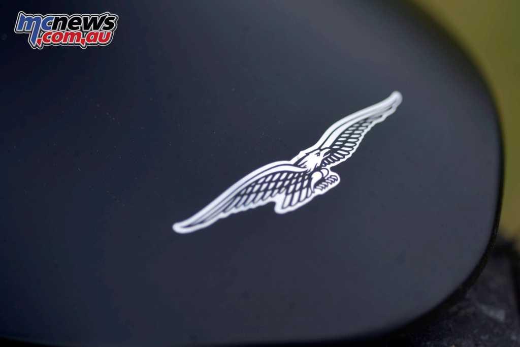 The Moto Guzzi eagle