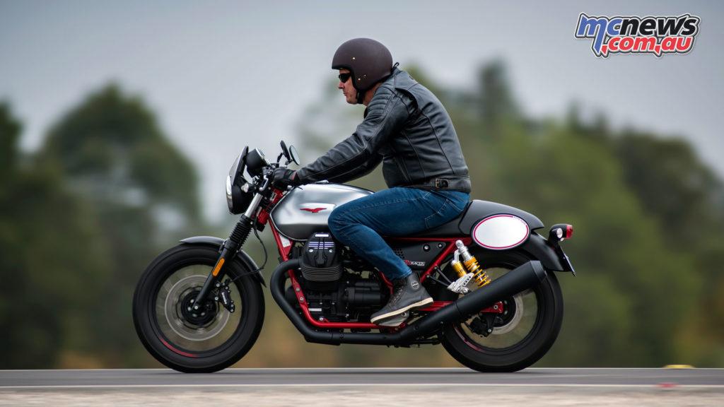 The Moto Guzzi V7 III Racer