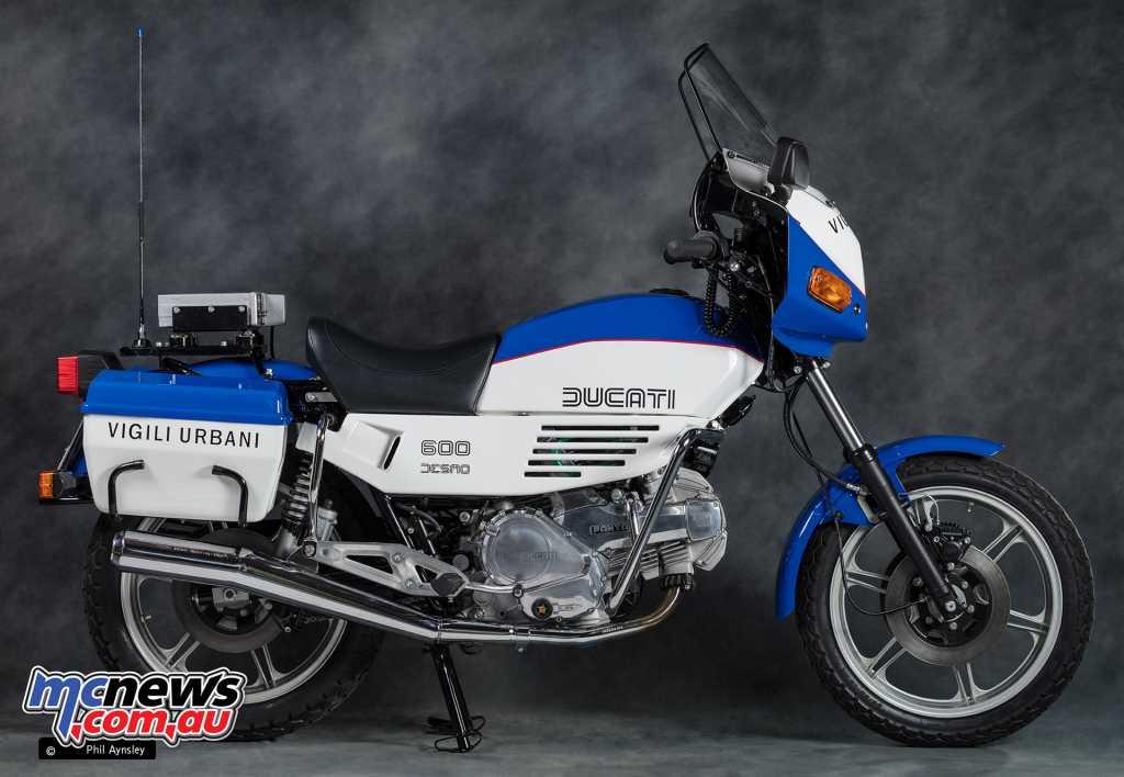 The Ducati 'Polizia Urbana' 600TL Pantah