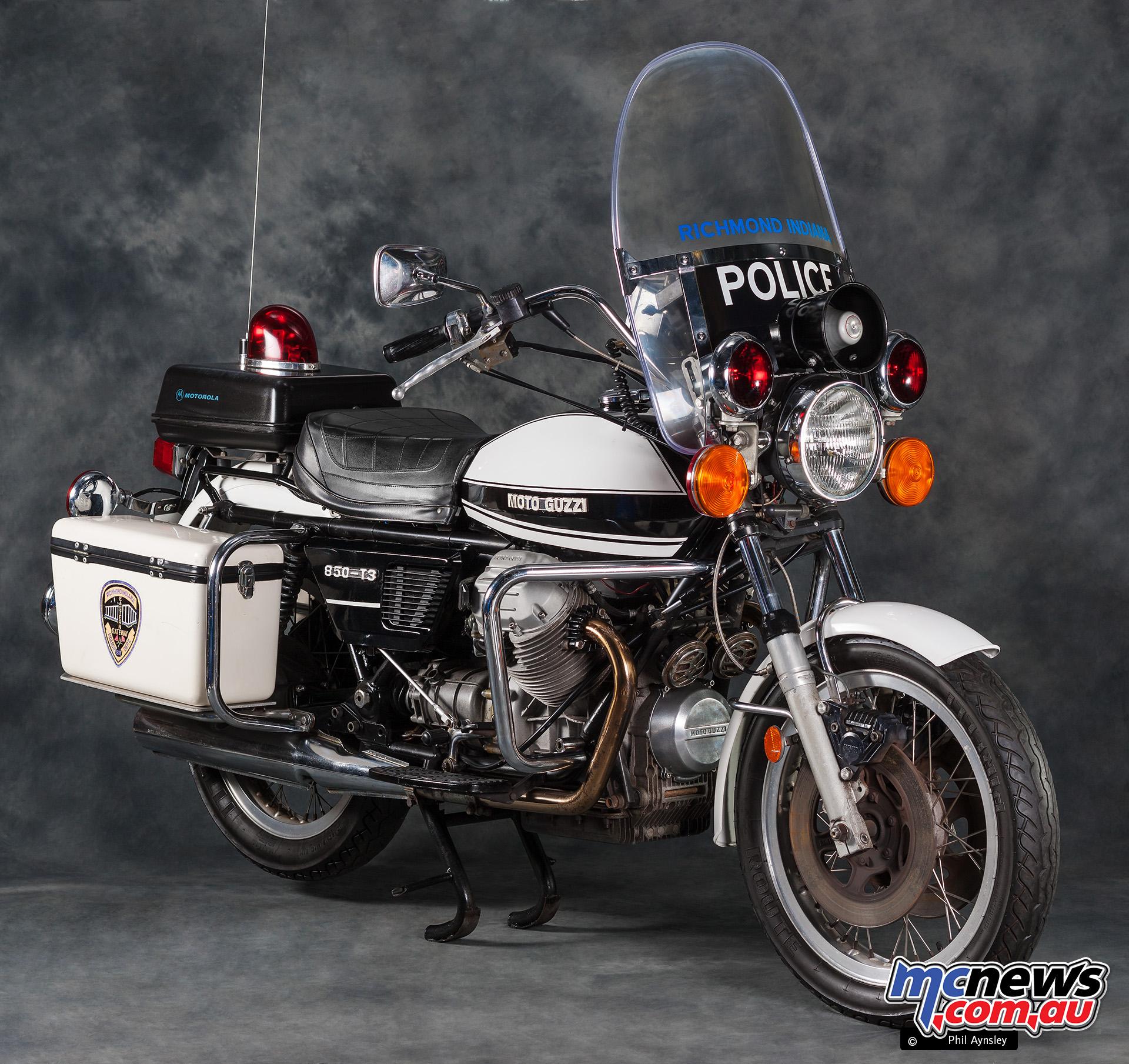 LAPD Moto Guzzi 850 T3 Police Bikes | MCNews.com.au