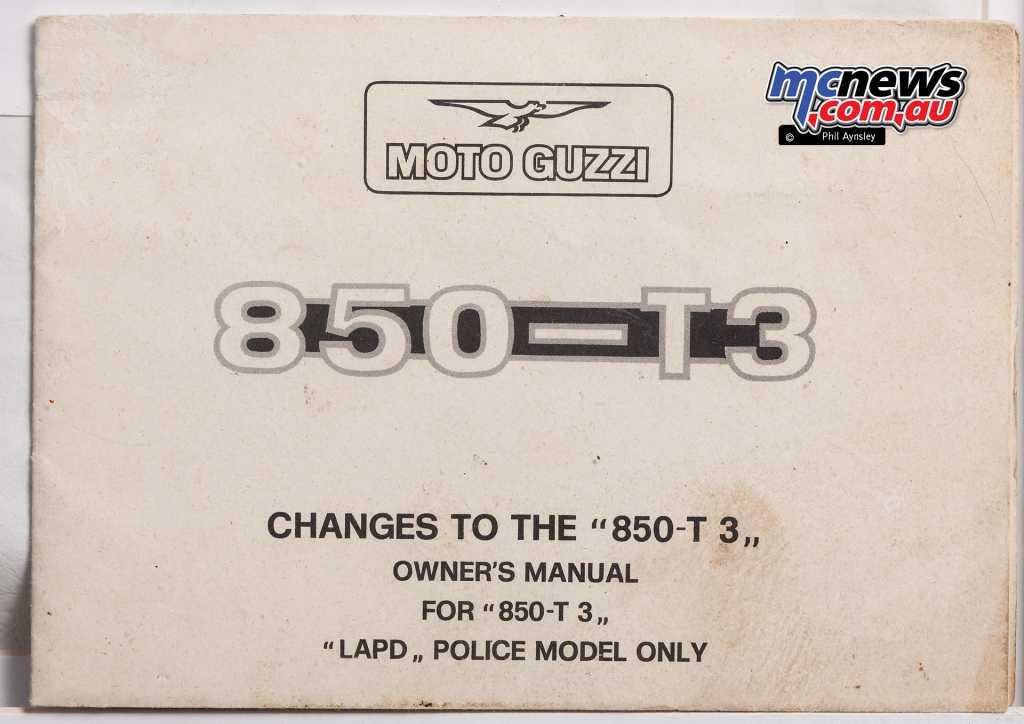 The original manual