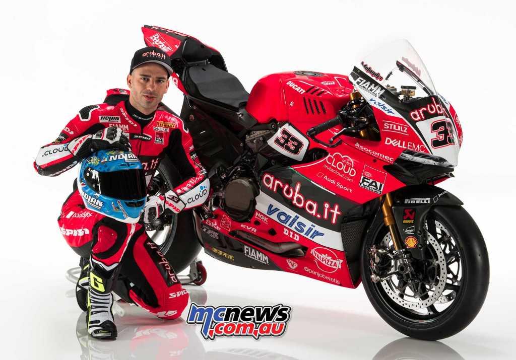 Ducati 2018 WorldSBK Launch - Marco Melandri