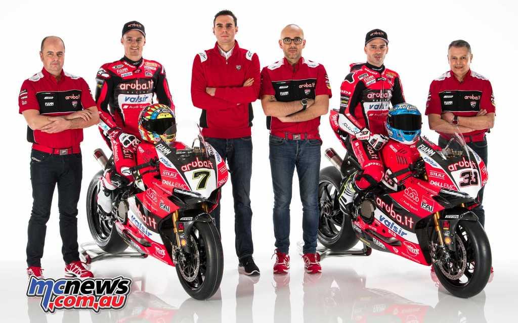 Ducati 2018 WorldSBK Launch