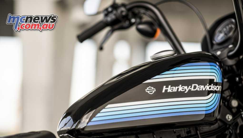 2018 Harley Davidson XL1200NS IRON Tank
