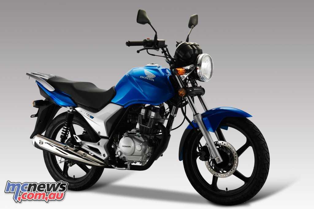 2018 Honda CB125e - Glint Wave Blue Metallic