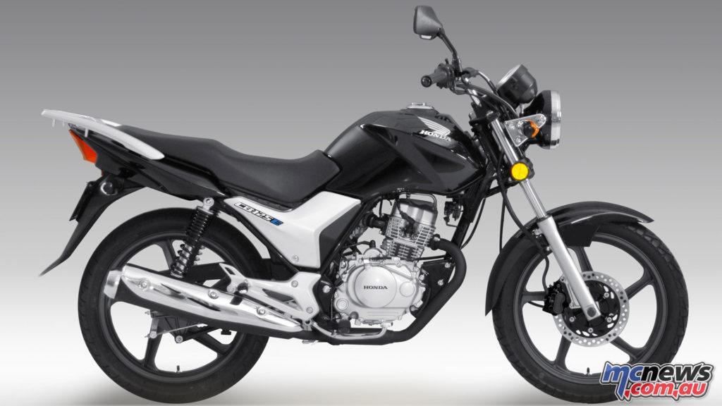 Honda's 2018 CB125e in Black