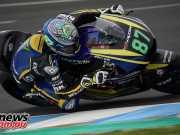 Remy Gardner at Jerez Moto2 Test