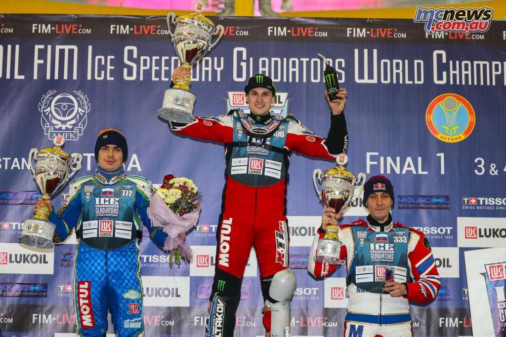 Ice Speedway Championship 2018 - Astana Podium Day 2