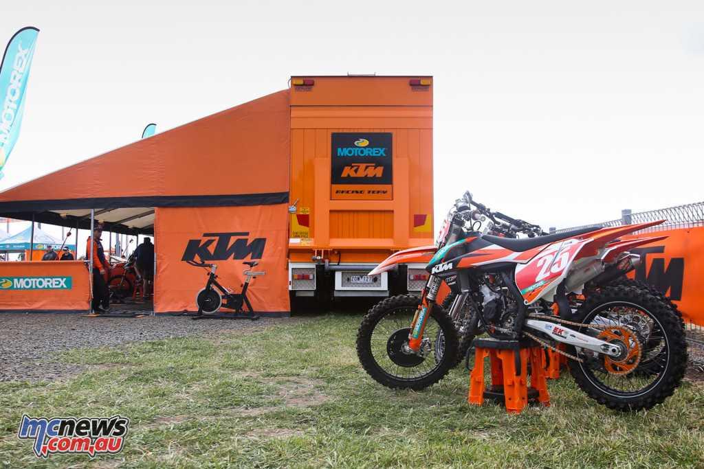 The KTM Junior MX Racing Team will include Regan Duffy, Blake Fox, Deegan Mancinelli, Jett Burgess-Stevens and Jet Alsop in 2018 - Image by Foremost Media