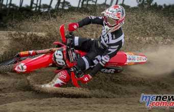 Hunter Lawrence - MX2 Team Honda 114 Motorsports - Image by Bavo