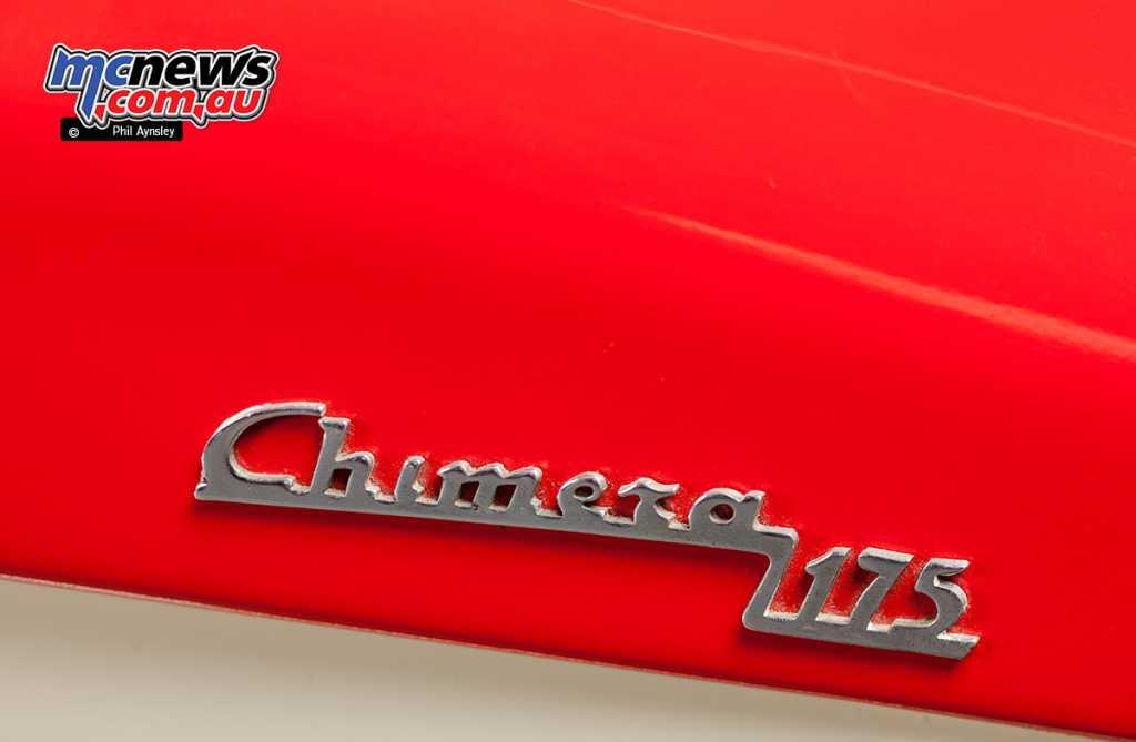 The Chimera 175 badging