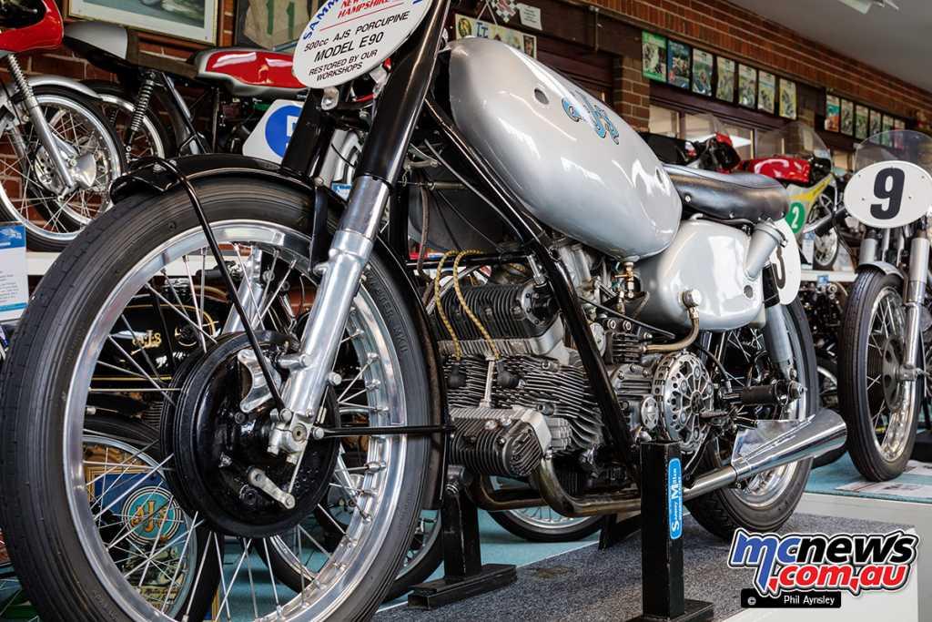 A Joe Craig concept AJS E90 500cc parallel twin