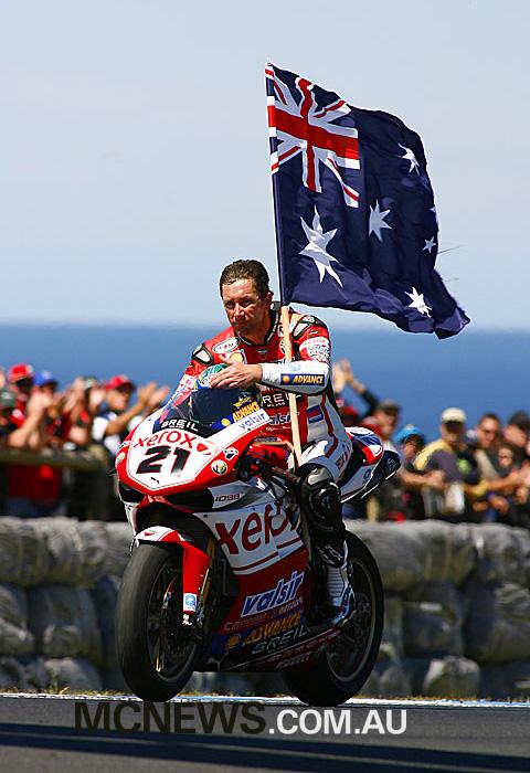 Troy Bayliss - Phillip Island 2008
