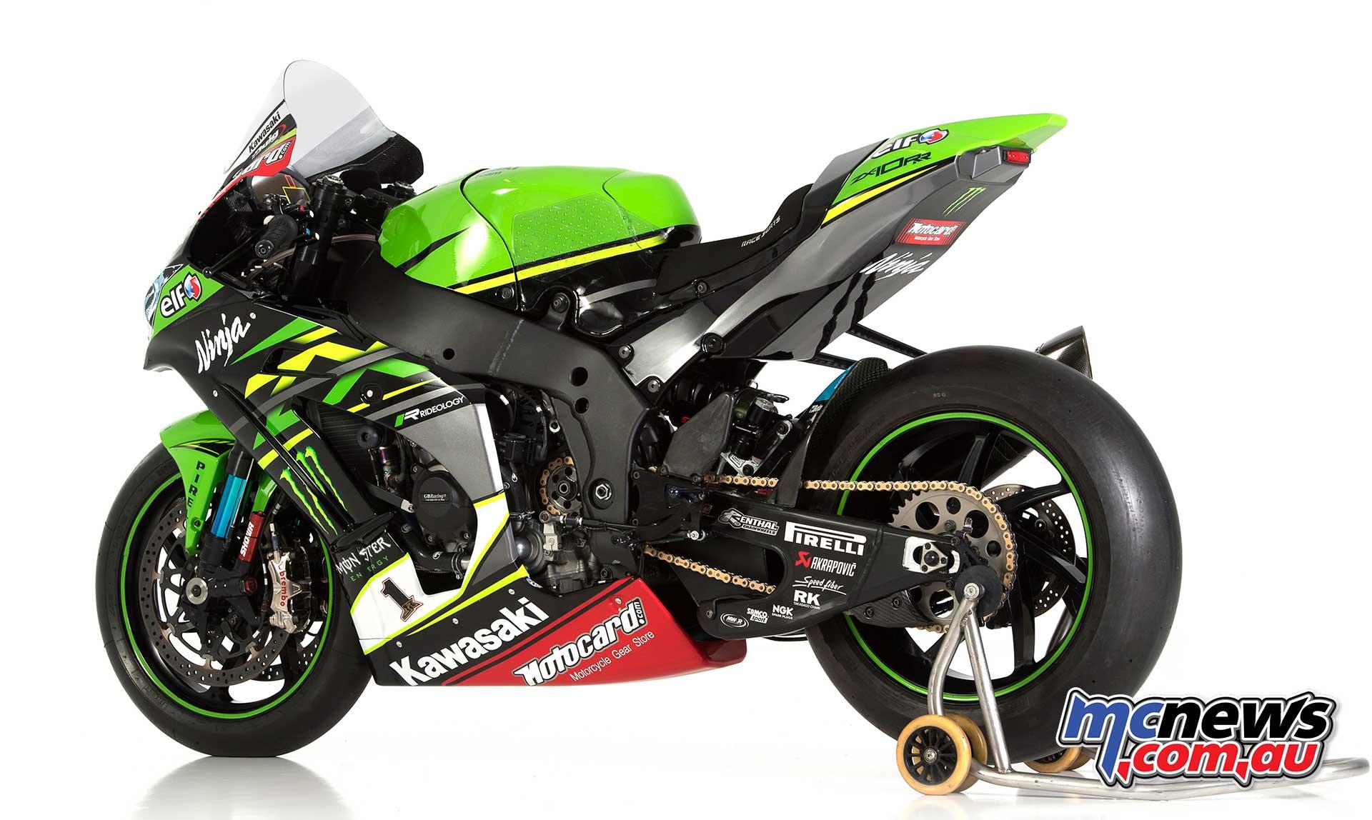 New Kawasaki Ninja Zx Rr