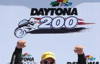Danny Eslick won the 2018 Daytona 200