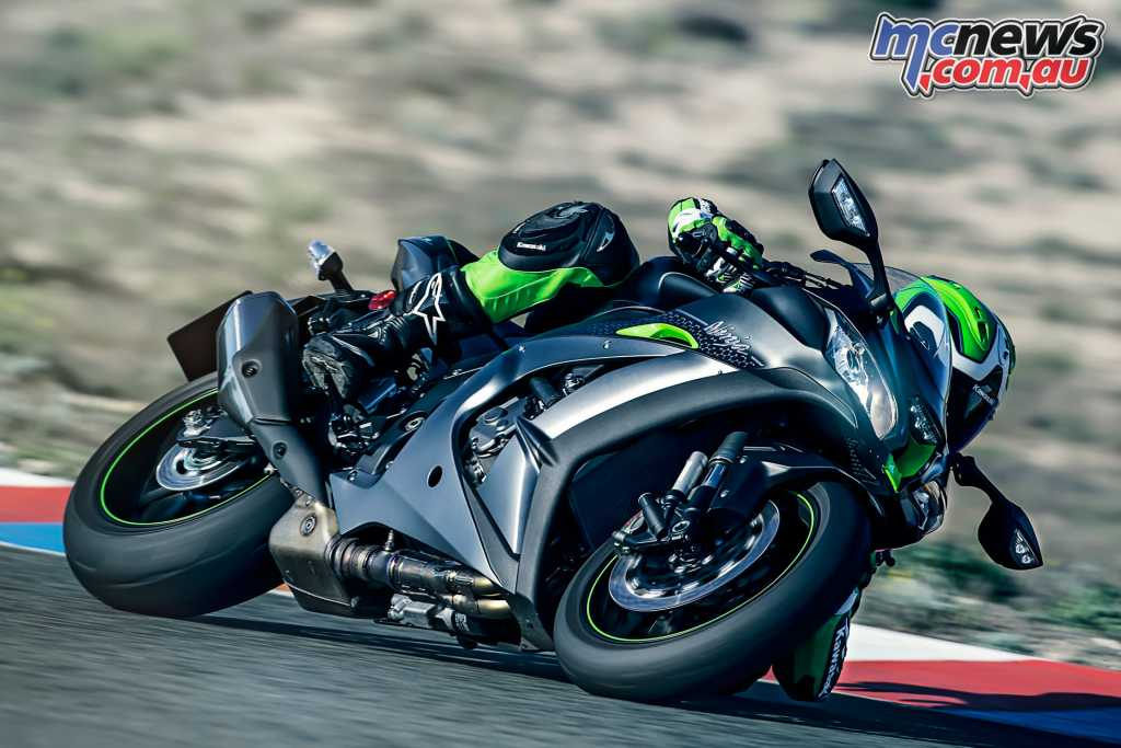 Kawasaki's ZX-10R was the lowest selling of the Japanese sportsbikes but Kawasaki are still going pretty well in Australia