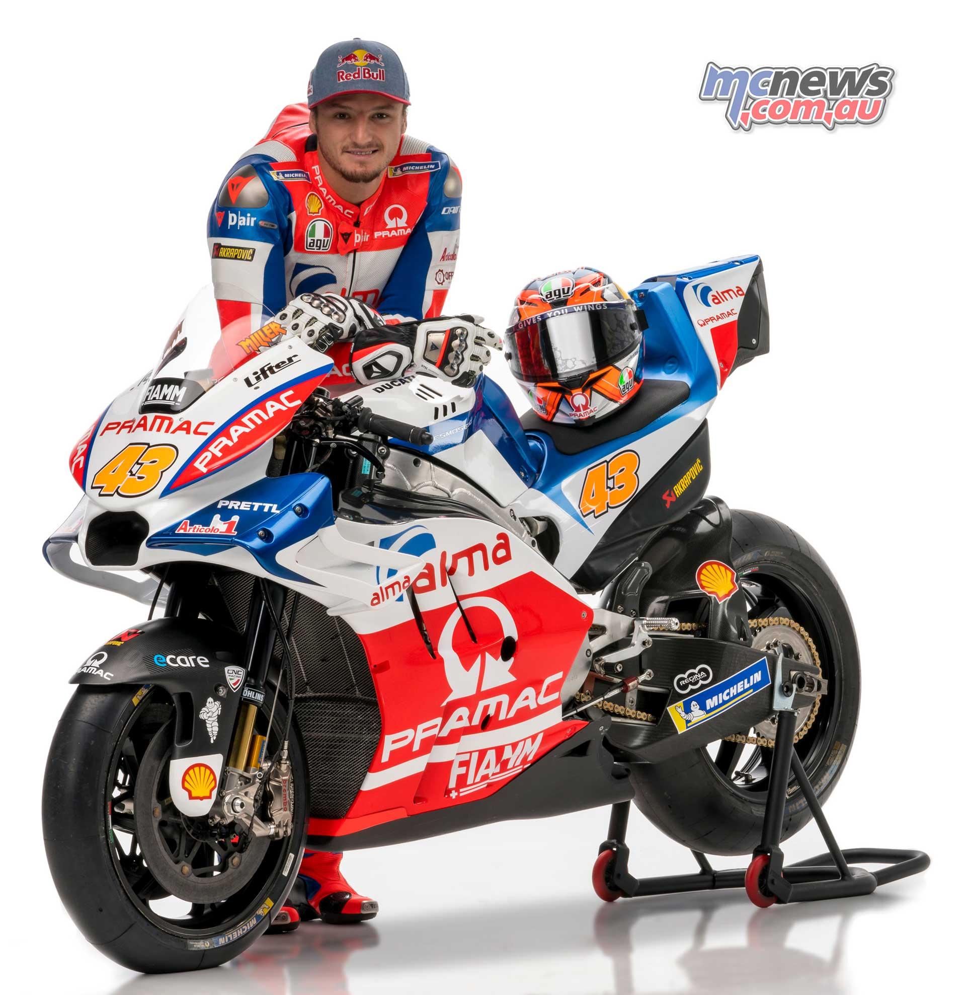 Motogp 2018: Jack Miller And Pramac Ducati Ready For MotoGP 2018