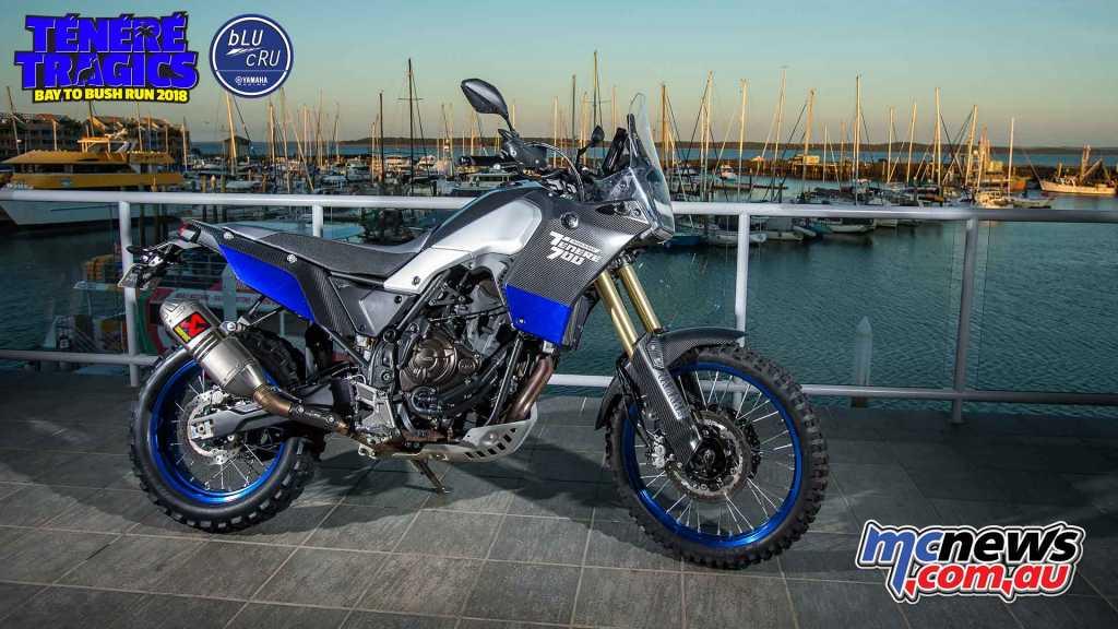 T n r 700 world raid at annual t n r tragics rally for Yamaha 700 tenere