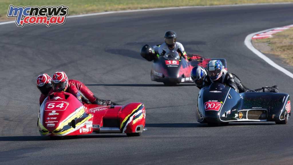 Mick Alton / Chrissie Clancy in the F2 class