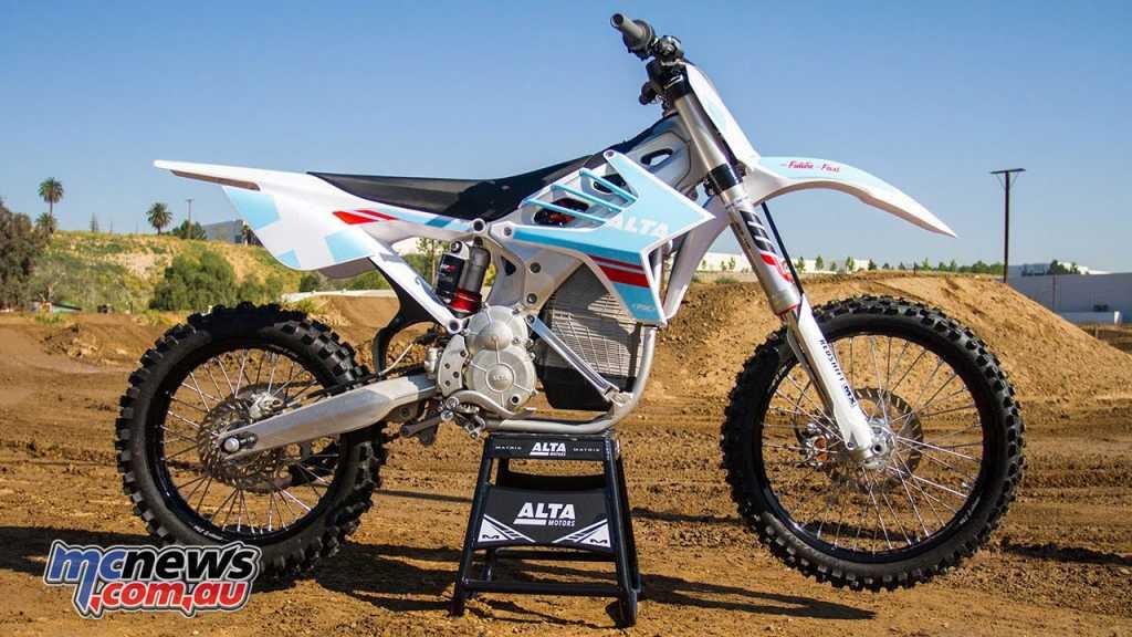 Atla's electric motocross bike