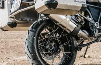 New Bridgestone Adventure Motorcycle Tyres   Battlax A41