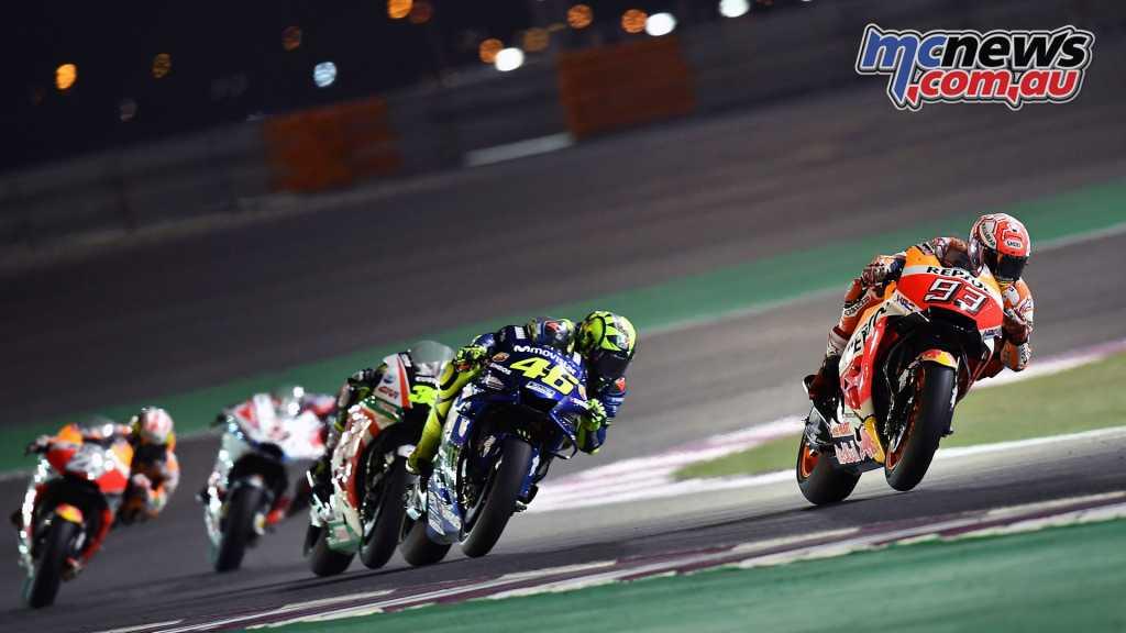 Marquez and Rossi