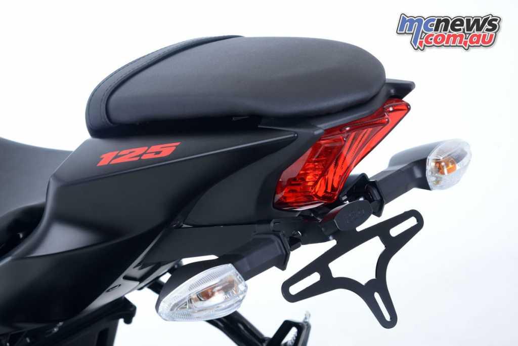 R&G Tail Tidy Suzuki GSX-S125 / GSX-R125 '17-onward, Part Numbers:LP0238BK;RRP $139.95