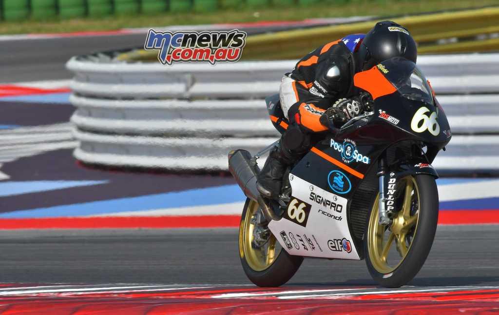Joel Kelso - JDS Moto - CIV 2018 Round One - Image by Fotoagenzia31