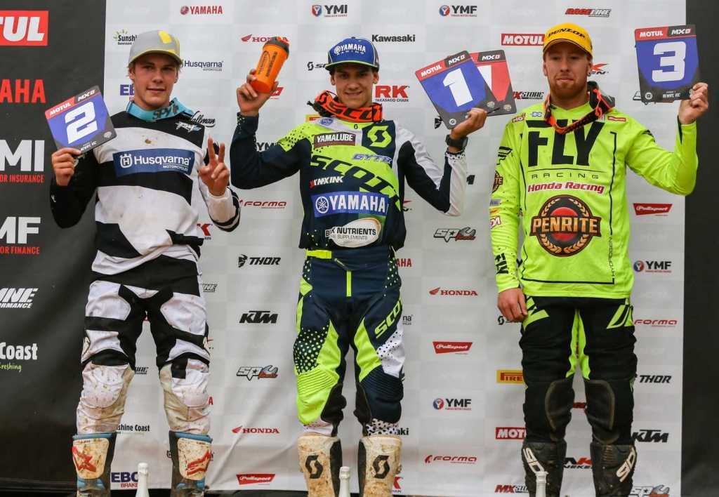 Motul MXD Results Round One Hugh McKay (Yamaha) 60 2. Riley Dukes (Husqvarna) 60 3. Callum Norton (Honda) 60