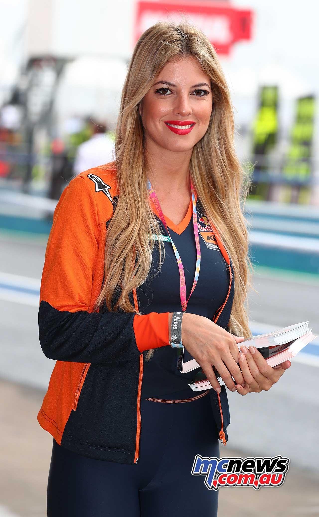 2018 Argentina MotoGP Grid Girls | MCNews.com.au