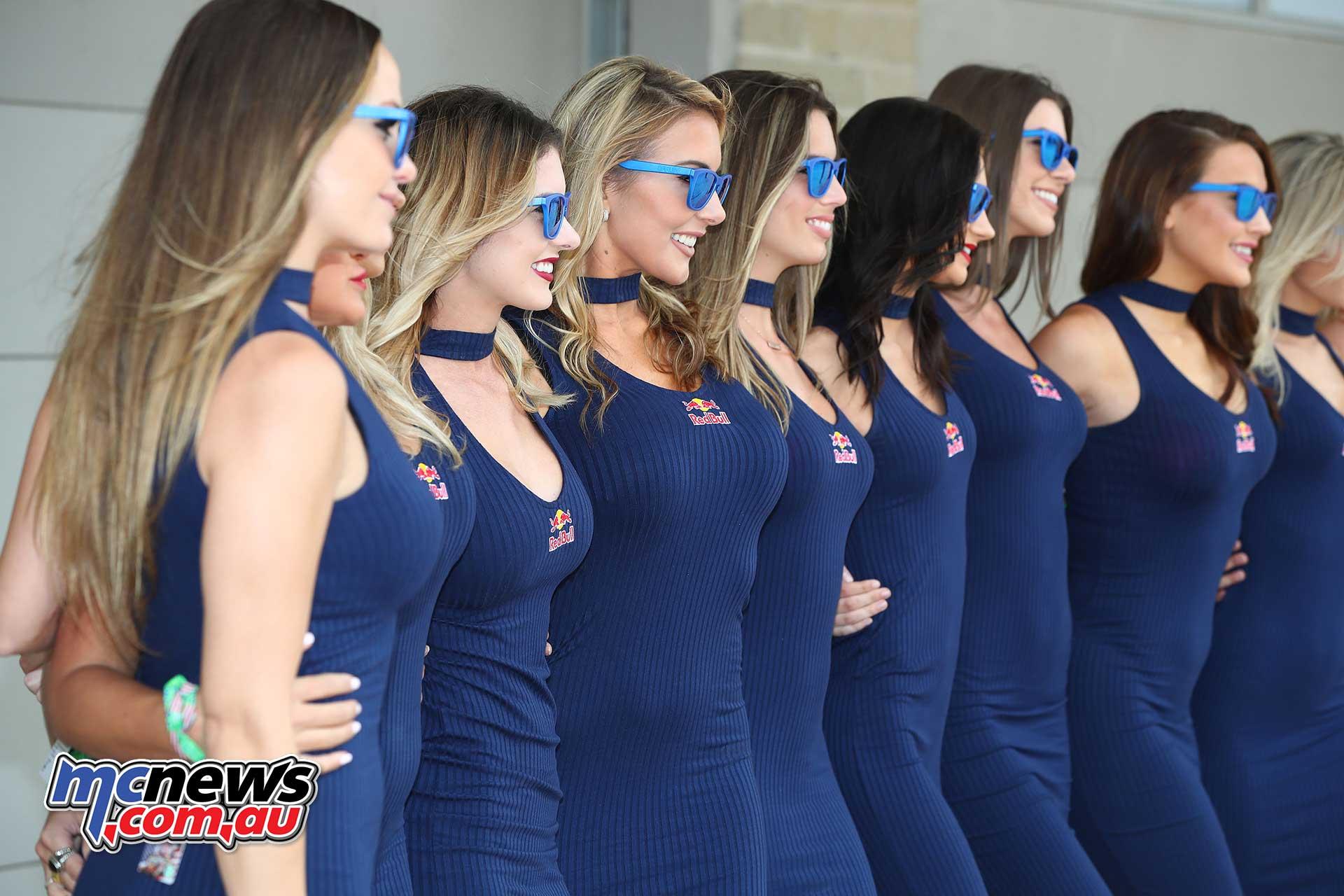 2018 COTA MotoGP Images   Grid Girls   MCNews.com.au