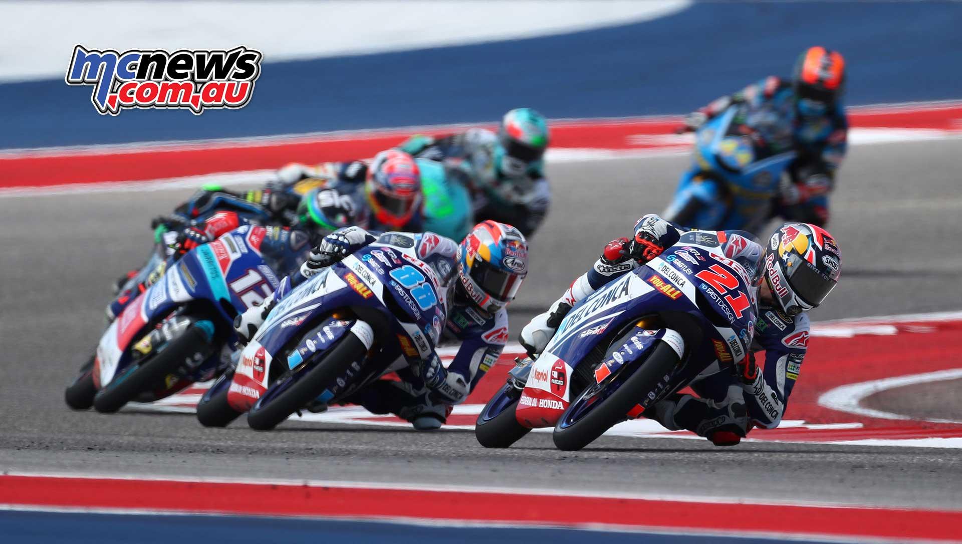 Moto2 and Moto3 Image Gallery from COTA MotoGP | MCNews.com.au