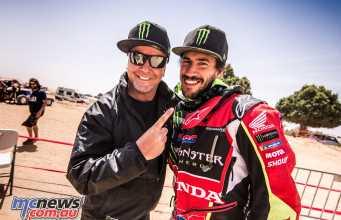 Joan Barreda takes the overall 2018 Merzouga Rally win