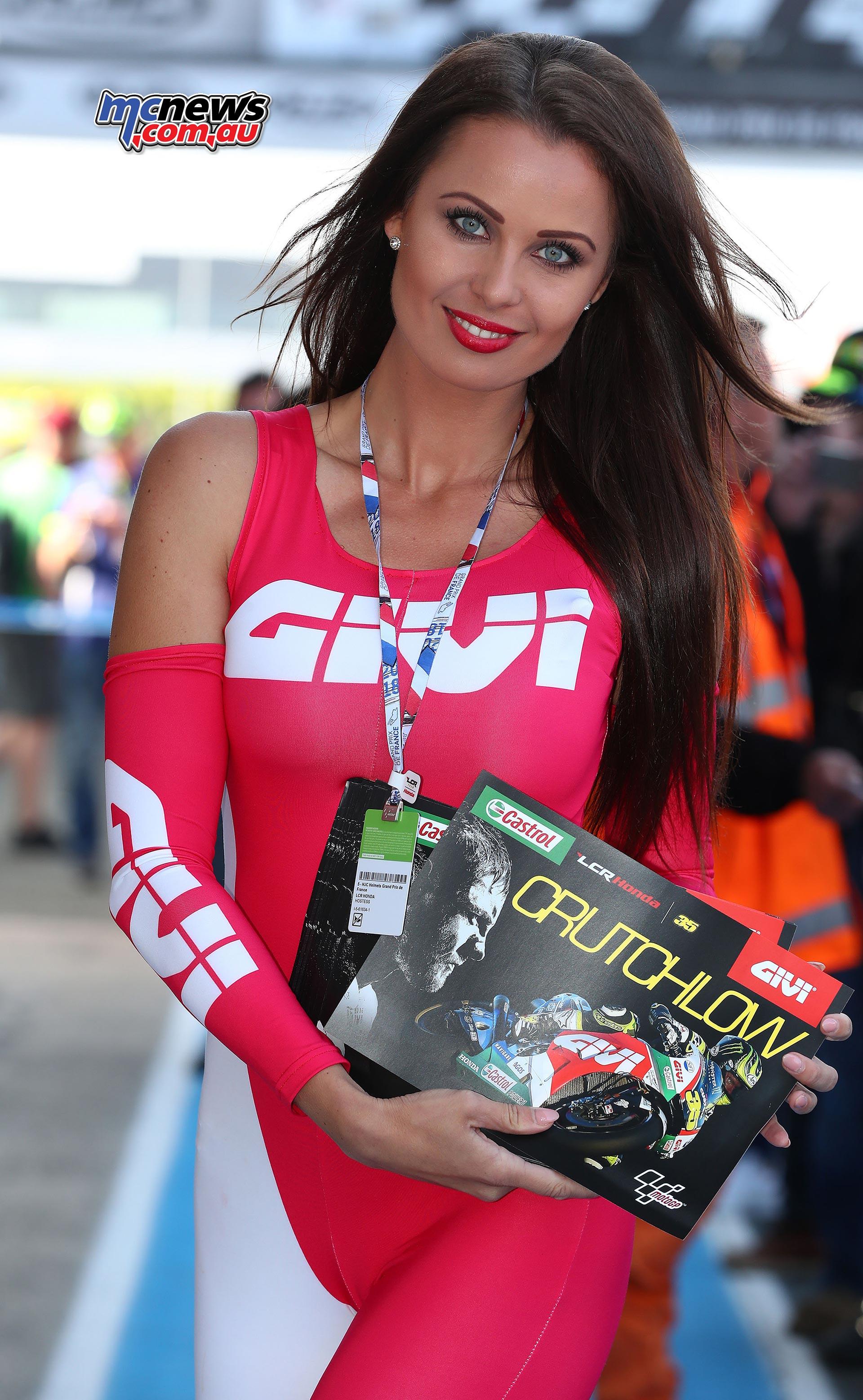 2018 Le Mans MotoGP 2018 | Grid Girls | MCNews.com.au