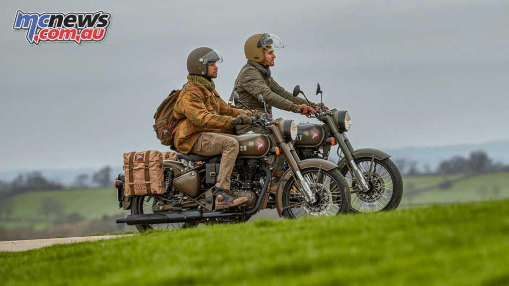 Royal Enfield Pegasus | British Defence special | MCNews.com.au