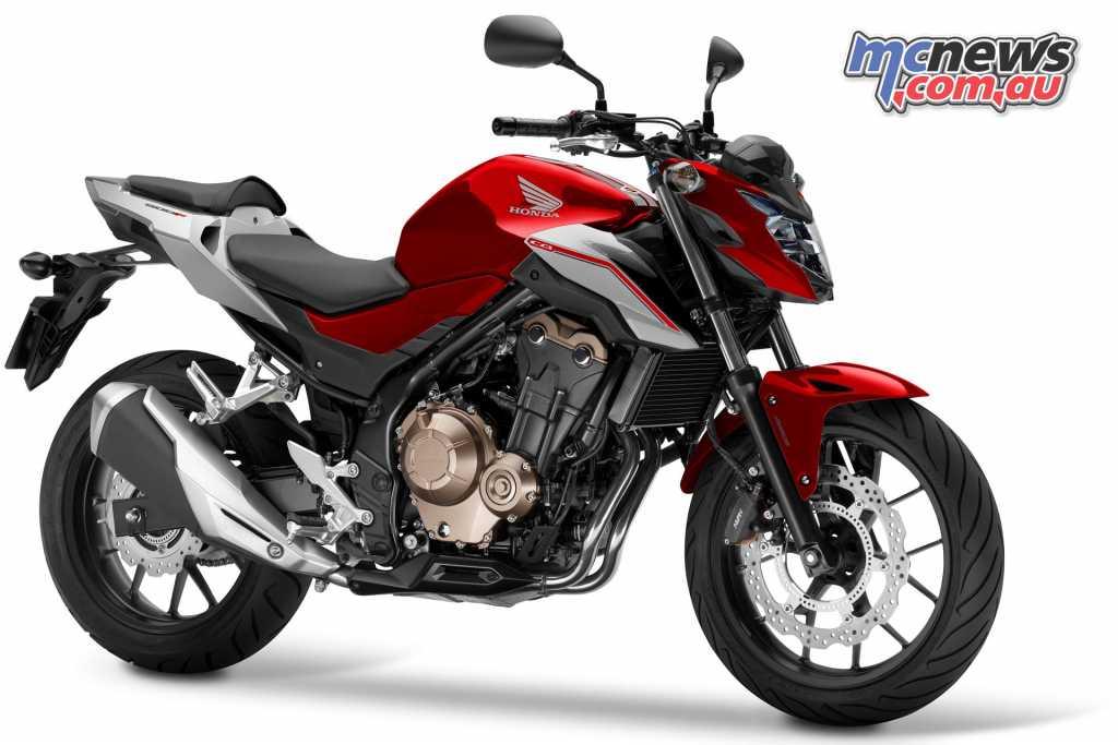 The Honda CB500F