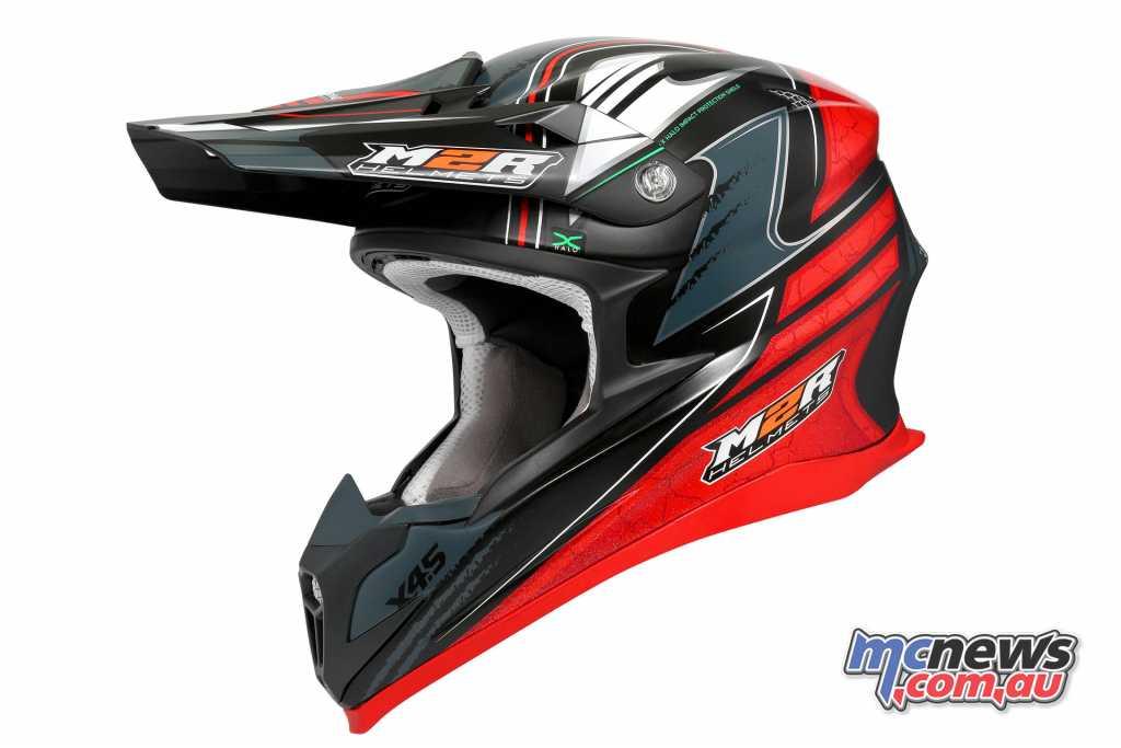 The Brett Metcalfe Replica M2R X4.5 helmet