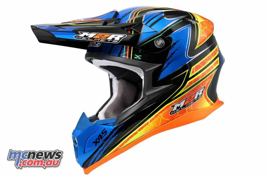 The Brett Metcalfe Replica M2R X4.5 helmetThe Brett Metcalfe Replica M2R X4.5 helmet