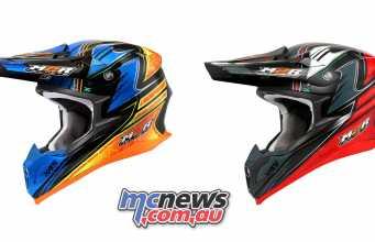 The M2R X4.5 Helmet - Brett Metcalfe Replica