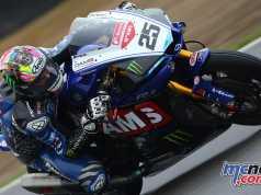 Josh Brookes on the McAMS Yamaha