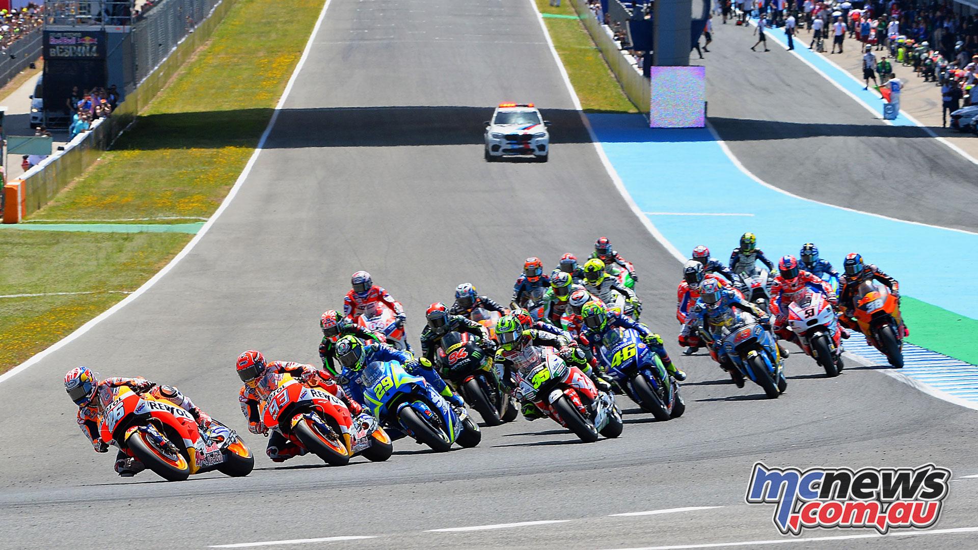 Circuito Los Arcos : Motogp heads to circuito de jerez angel nieto mcnews