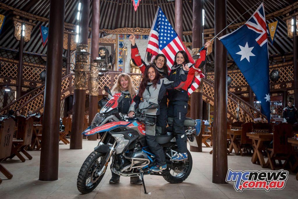 BMW International GS Trophy Mongolia 2018 - Team AusAmerica