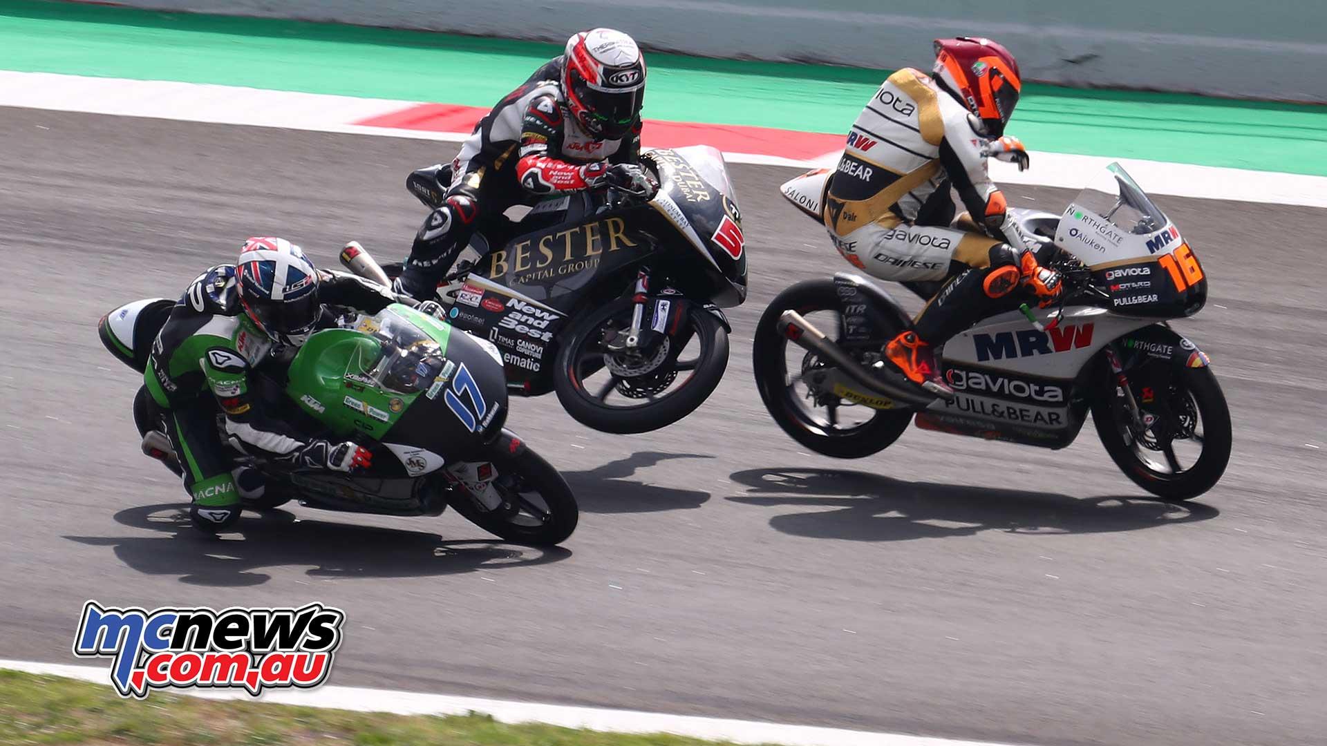 Catalunya Motogp Moto2 Images Moto3 Images Mcnews Com Au