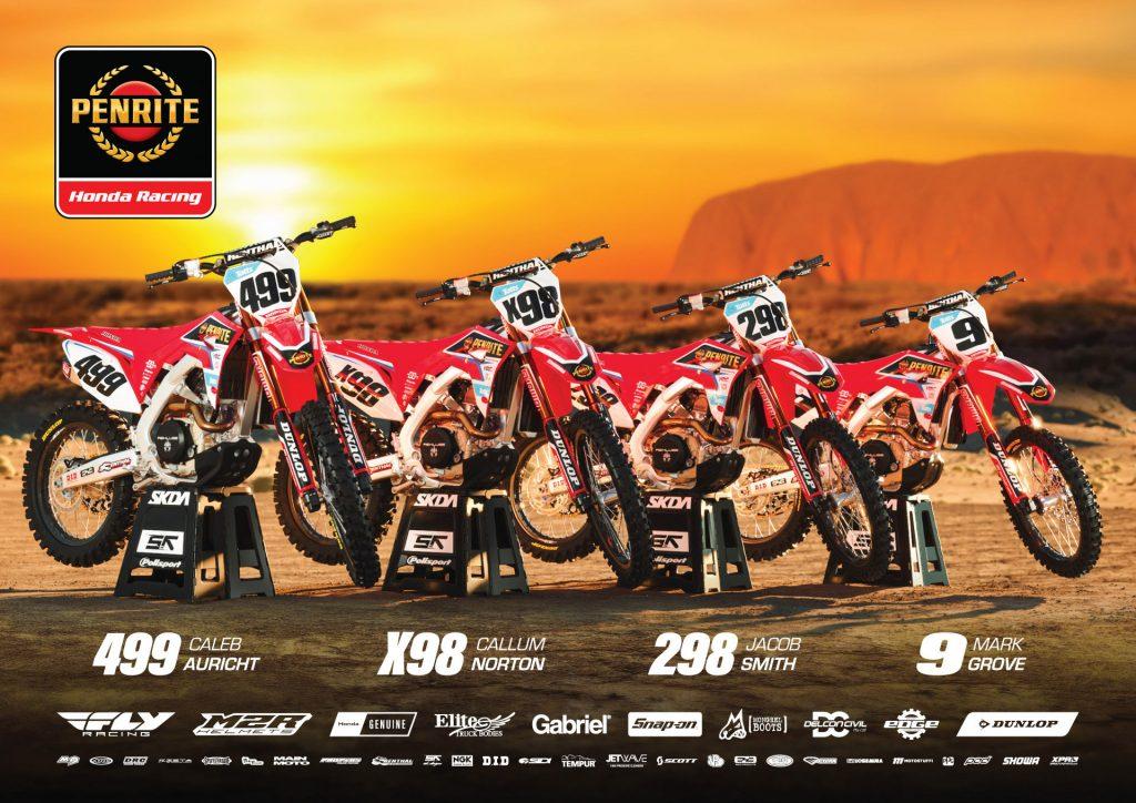 2018 Penrite Honda Finke Team