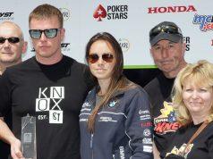 Ryan Kneen with family awarded 2018 PokerStars Spirit of the TT Award