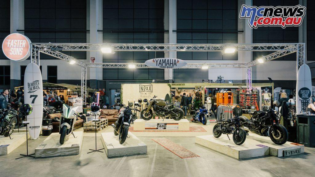 Wheels Waves Yamaha Yard Built