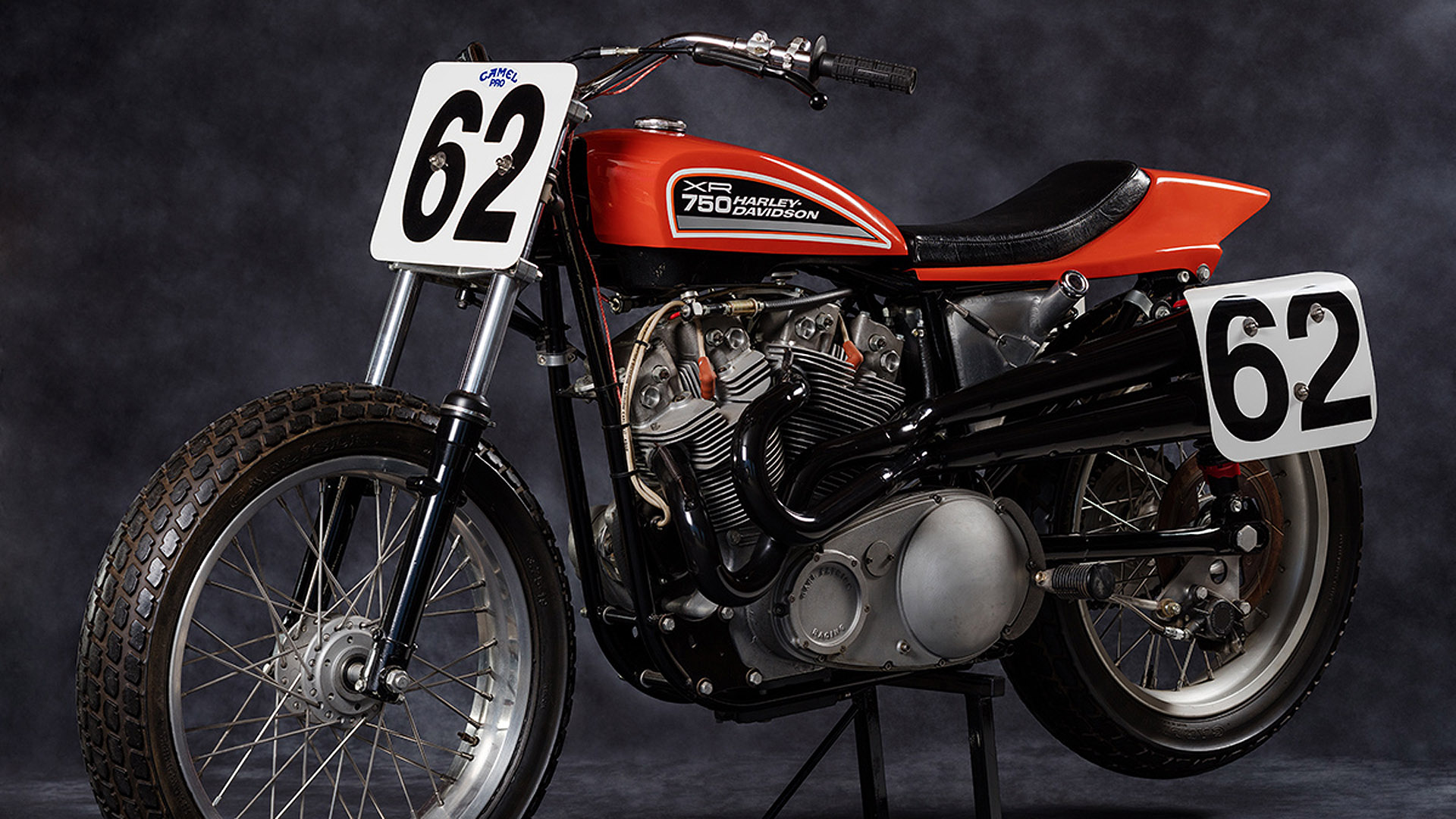 The Day Mcn Rode An Evel Knievel Harley Davidson Xr750 Replica: Harley Davidson Xr750